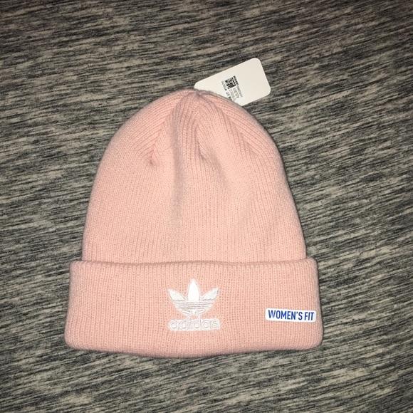 11bc1f05a2e adidas Accessories - Pink Adidas beanie